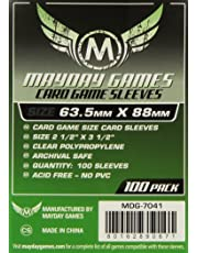 Mayday Games MDG7041 - Buste Protettive Carte, 63,5x88 mm, 100
