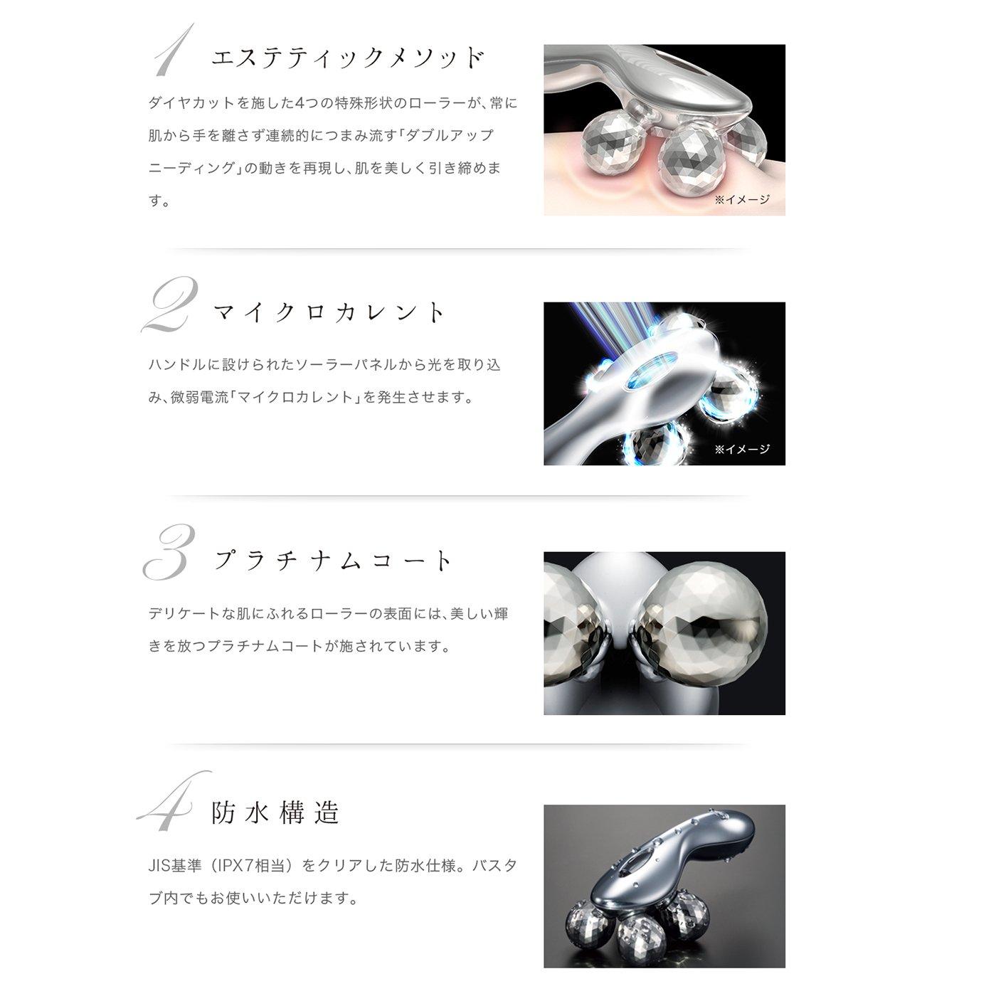 MTG Platinum Electronic roller ReFa 4 CARAT New models by MTG (Image #4)