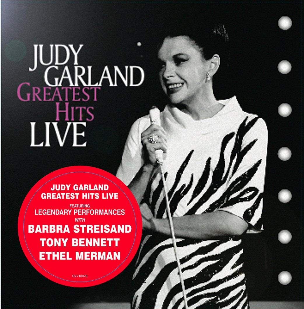 Judy Garland - Greatest Hits Live [LP] - Amazon.com Music