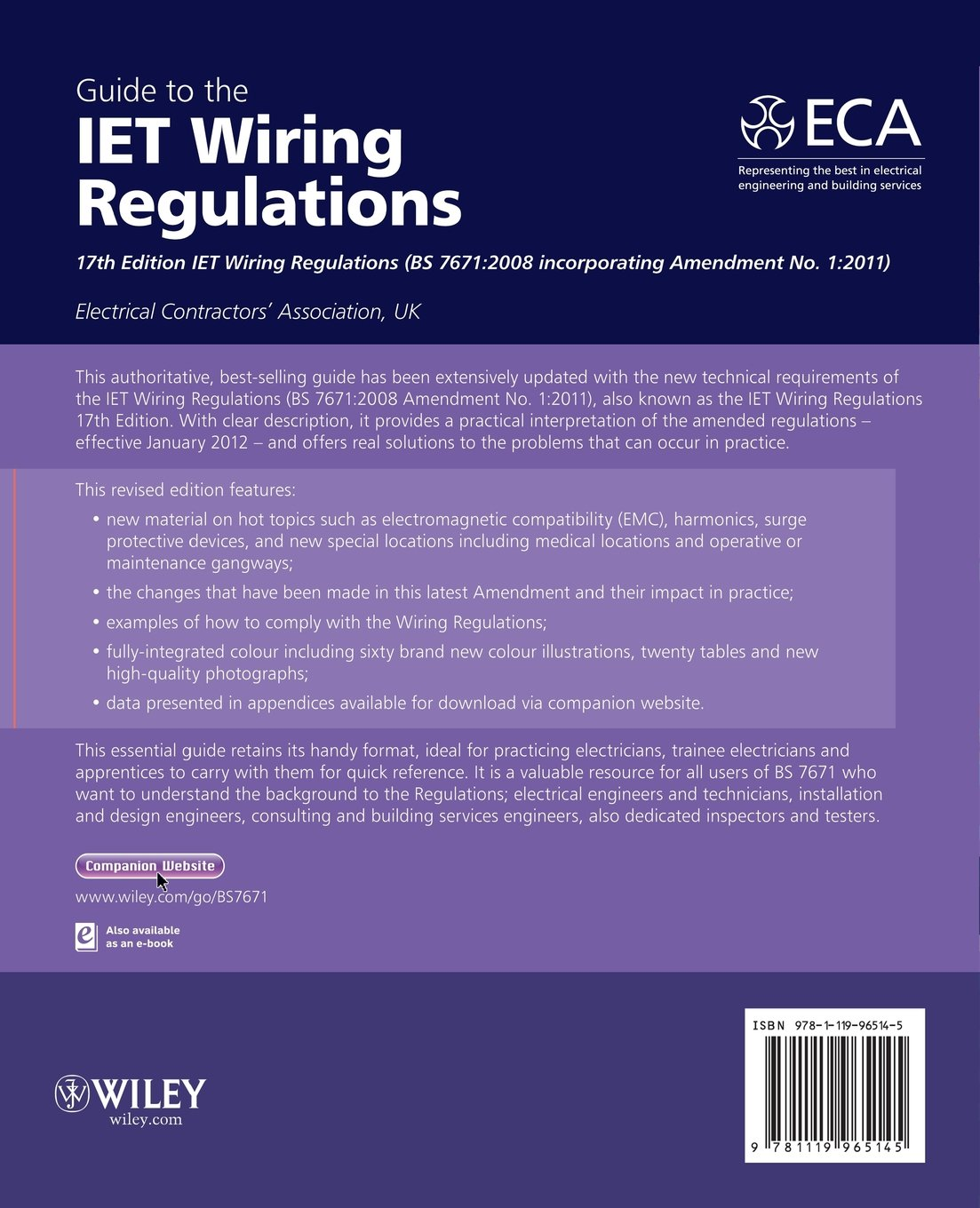 Guide to the iet wiring regulations iet wiring regulations bs 7671 guide to the iet wiring regulations iet wiring regulations bs 7671 2008 incorporating amendment no 1 2011 amazon electrical contractors keyboard keysfo Choice Image