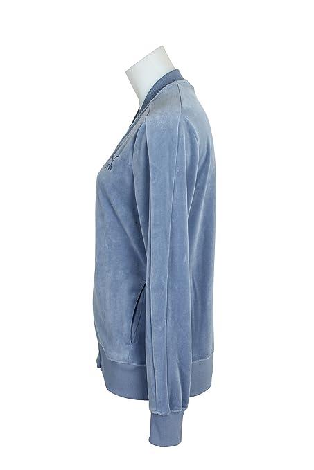 7eb24e85a50b0 Amazon.com: PUMA Women's Velour T7 Jacket Tempest Outerwear: PUMA ...