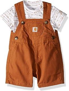 31f24e716dbff Amazon.com  Carhartt Baby Boys  Bib Overall  Clothing