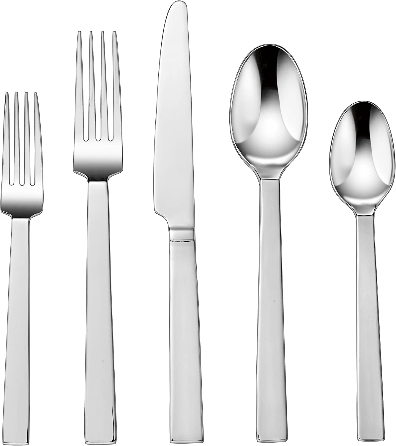 Amazon Com Cuisinart Cf 01 R20 20 Piece Flatware Set Rennes Cuisnart Flatware Flatware Sets