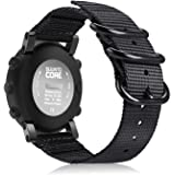 Fintie Watch Band Compatible with Suunto Core, Premium Woven Nylon Replacement Sport Strap with Metal Buckle Compatible with