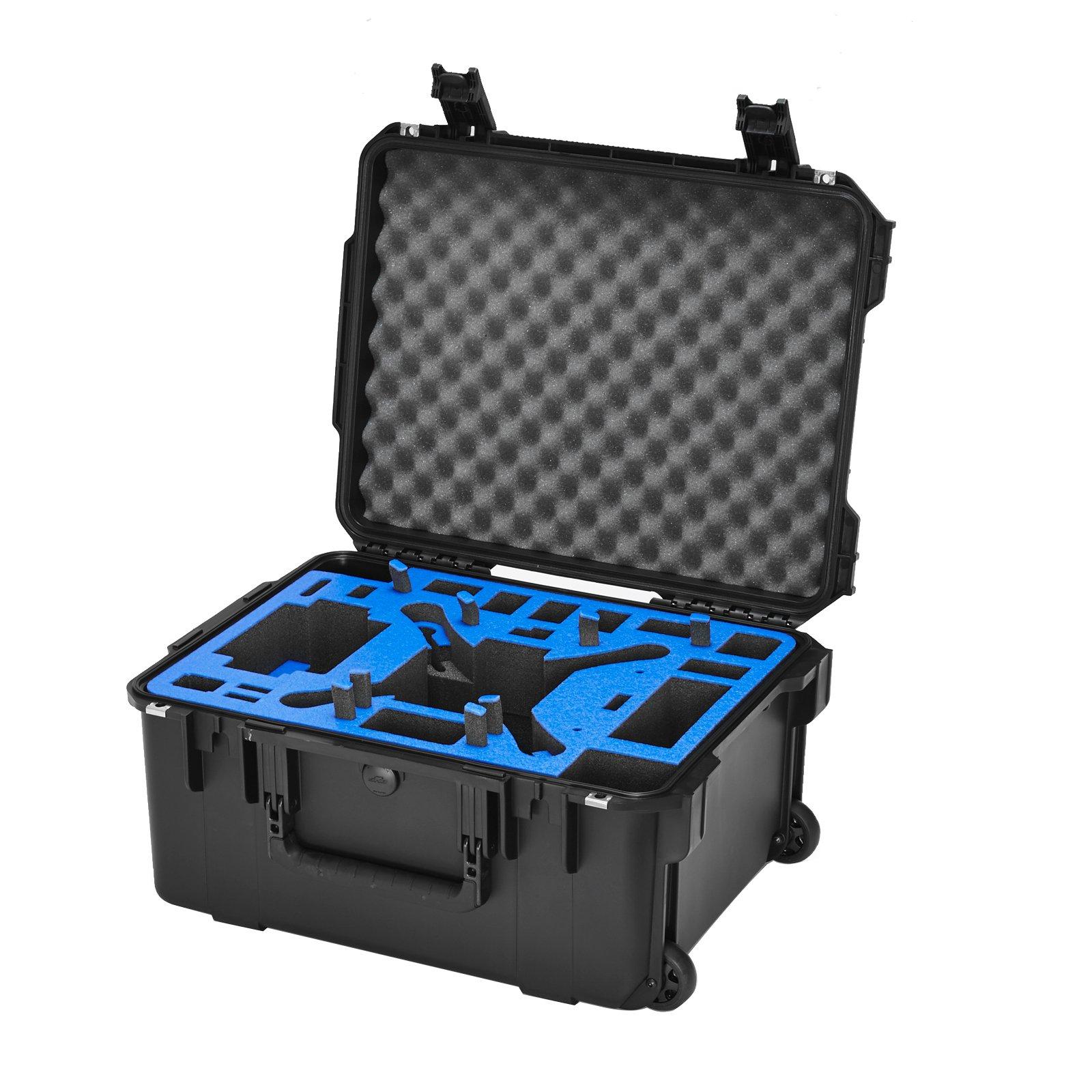 Go Professional Wheeled XB-DJI-Plus Case for DJI Phantom / FC40 / Phantom 2 / Vision / Plus