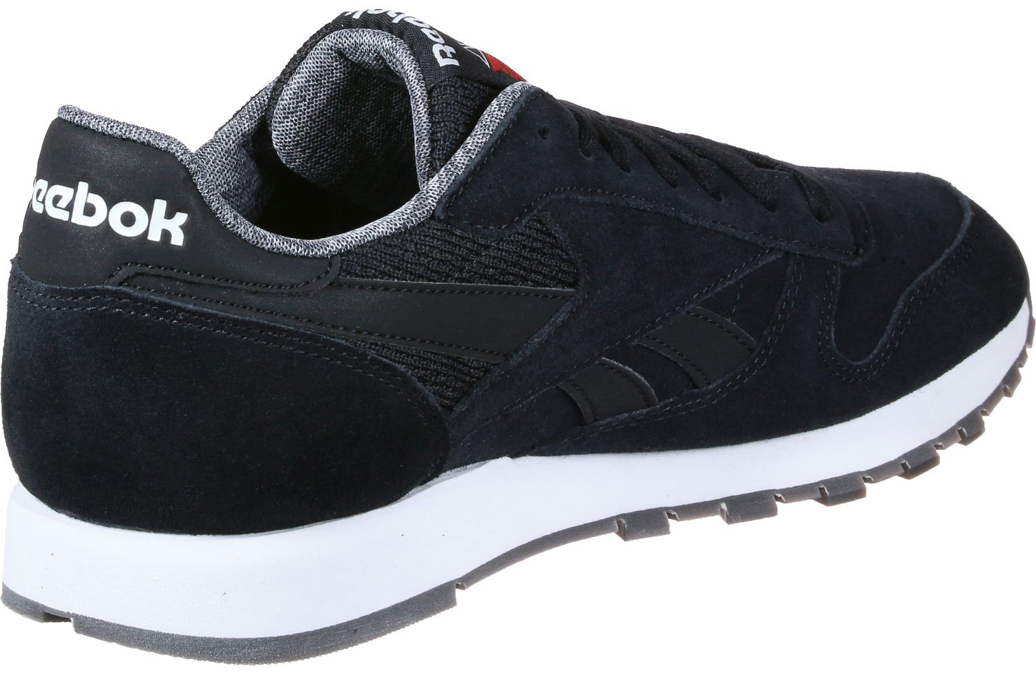 Reebok Cl Leather NM, Zapatillas de Running para Hombre 37 EU|Negro (Black / White)