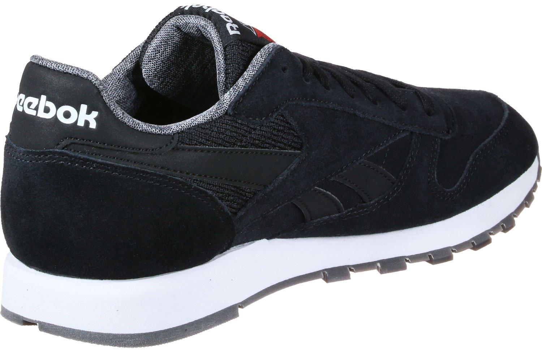 Reebok Cl Leather NM, Zapatillas de Running para Hombre 38 EU|Negro (Black / White)
