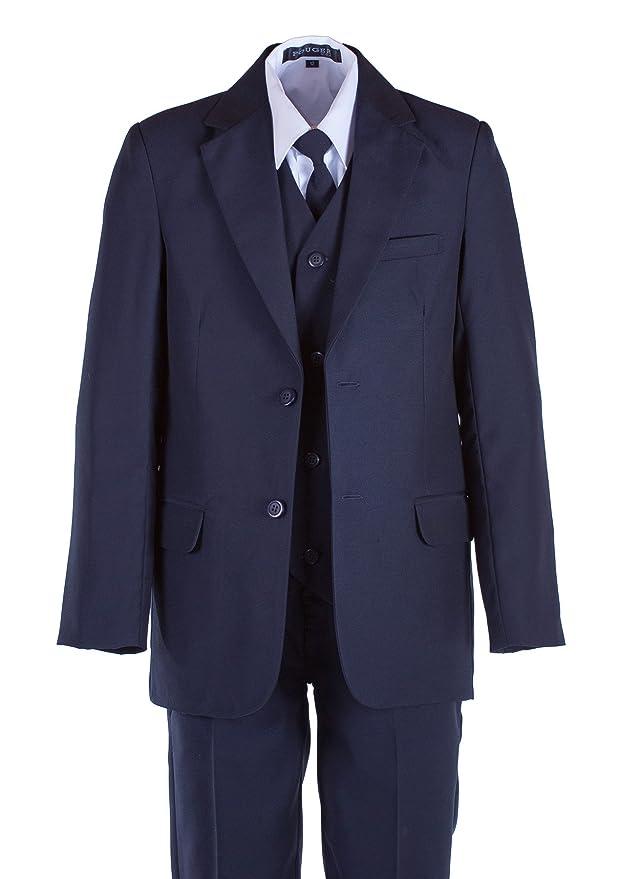 Amazon.com: tuxgear niños ajuste clásico azul marino traje ...