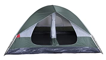 Stansport Grand 12 2-Room Tent 10 x 12 -FeetGreen/  sc 1 st  Amazon.com & Amazon.com : Stansport Grand 12 2-Room Tent 10 x 12 -Feet Green ...