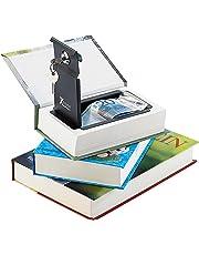 Xcase Buchtresor: Buch-Tresor, getarnt als Roman, ECHTES Papier, 18,5 x 13 cm (Kinder Tresor)