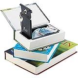 Xcase Buchtresor: Buch-Tresor, getarnt als Roman, ECHTES Papier, 18,5 x 13 cm (Buchsafes mit echten Papierseiten)