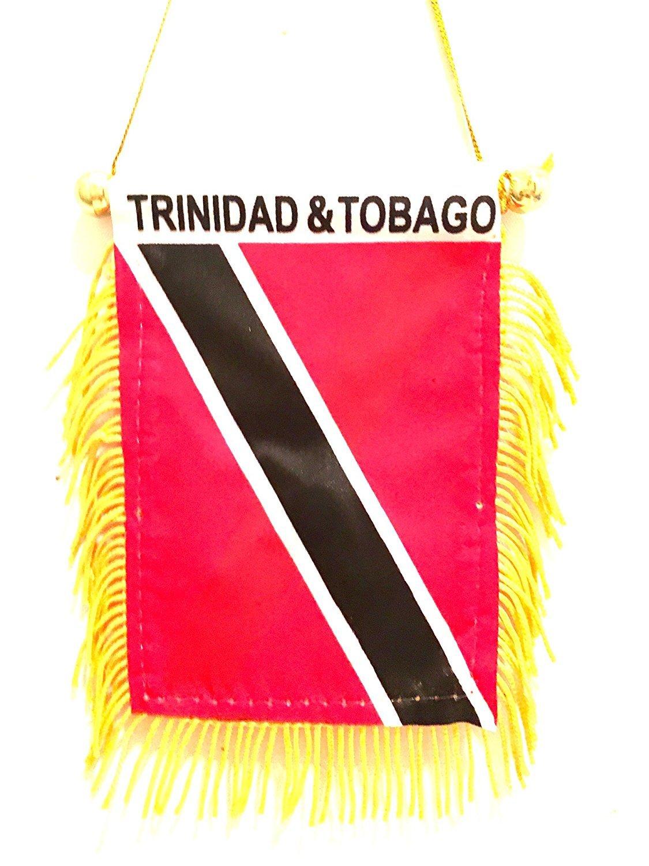 Trinidad & Tobago Car Flag Trinidad & Tobago Designs