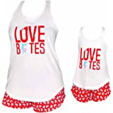 """Unique Baby UB """"Love Bites"""" Mommy and Me Mother's Day Outfit"""