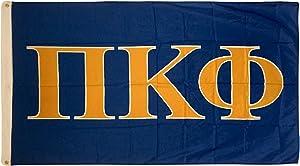 Pi Kappa Phi Letter Fraternity Flag Greek Banner Large 3 feet x 5 feet Sign Decor Pi Kapp
