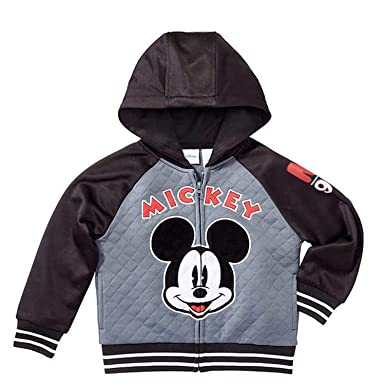 fa07f31f8e Disney Mickey Mouse Little Boys Toddler Zip Up Hoodie