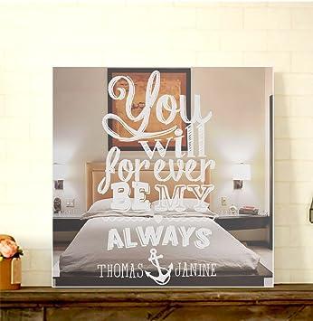 Gravurzeile Motivspiegel You Will Forever Mit Gravur