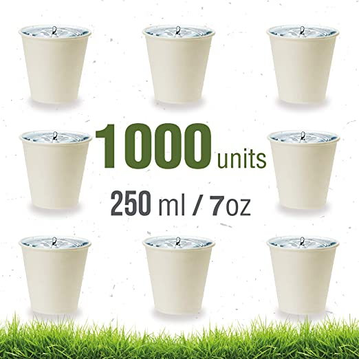 Soul Forest - Vasos Reciclables de Cartón 250 ml - Pack de Vasos ...