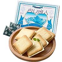 白色恋人 白巧克力夹心饼干12枚132g(日本进口)(亚马逊自营商品, 由供应商配送)