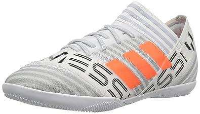 adidas Boys  Nemeziz Messi Tango 17.3 in J Soccer Shoe White Solar Orange  83a1680da