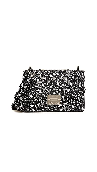 7c200316b591 Amazon.com  Rebecca Minkoff Women s Christy Small Shoulder Bag with Floral  Cutouts