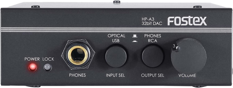 Fostex HP-A3 32-Bit Digital to Analog Converter/Headphone Amplifier