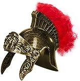 Kangaroo's Roman Legion Gladiator Helmet- Gold