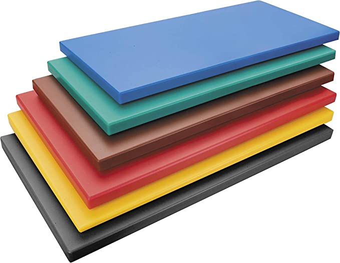 Lacor - 60473 - Tabla Corte PolietilenoGn 1/2x2 - Rojo