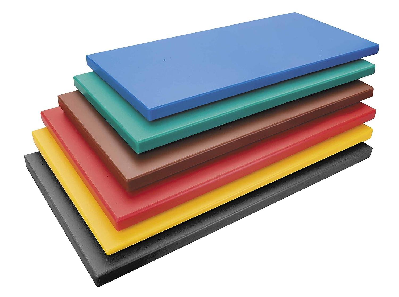 Lacor 60479 - Tabla corte polietileno para aves, GN 1/1 x 2 cm, amarillo Lacor_60479