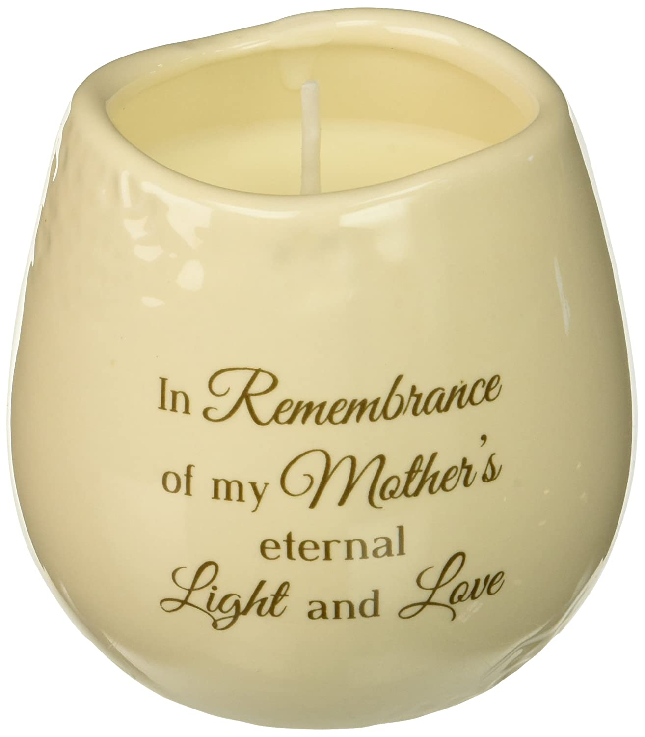 Light Your Way Memorial 19179 Mother Ceramic Soy Wax Candle Pavilion Gift Company
