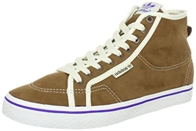 adidas Women s Brown Honey Mid Top Leather Trainers 5 UK  Amazon.co ... 12e1e3d1f0