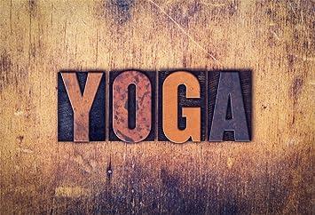 Amazon.com : OFILA Yoga Backdrop 9x6ft Grunge Wall ...