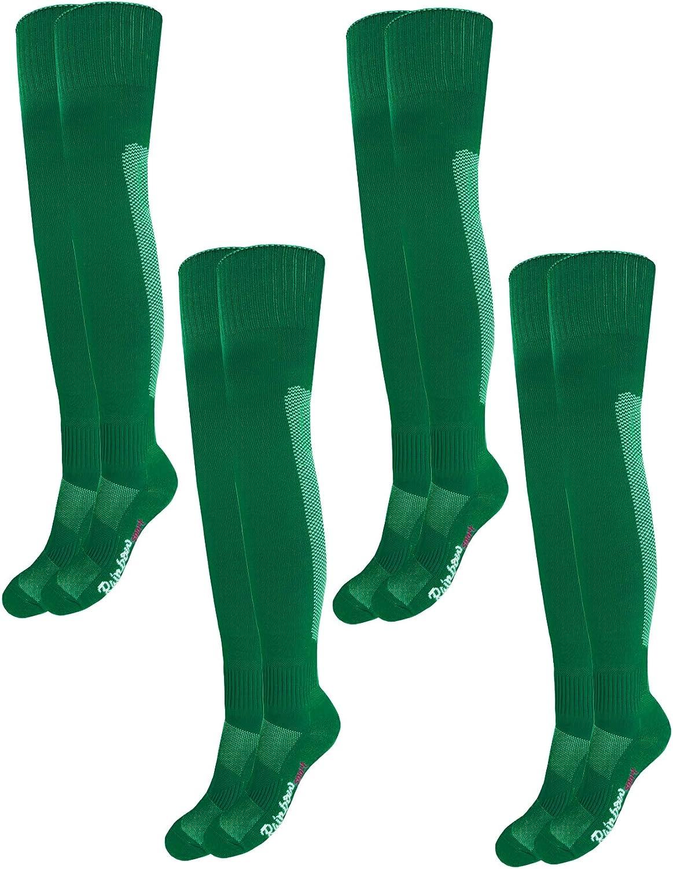 Rainbow Socks - Hombre Mujer Calcetines Largos Fútbol