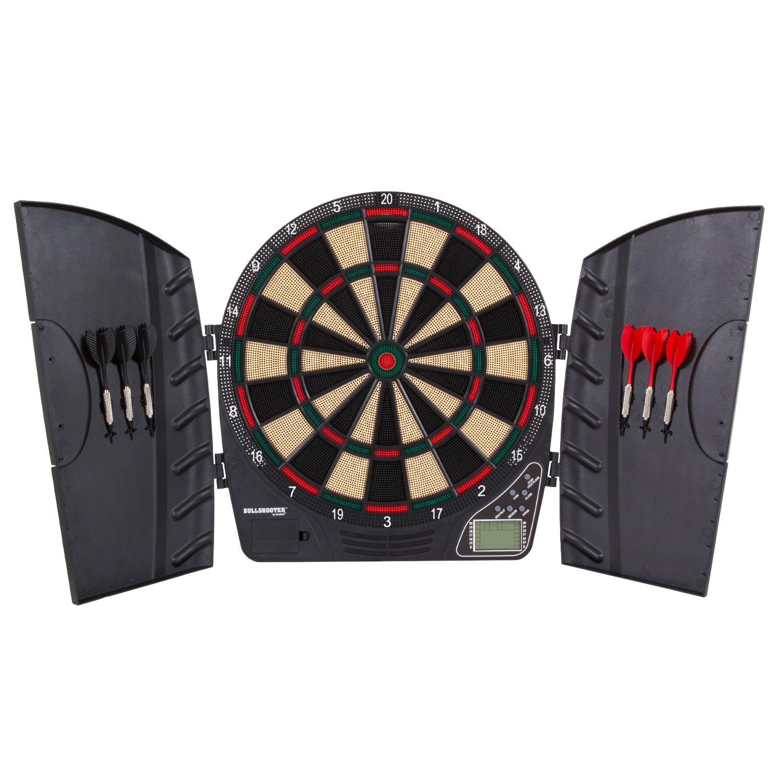 Bullshooter by Arachnid Reactor Electronic Dartboard Cabinet set ...