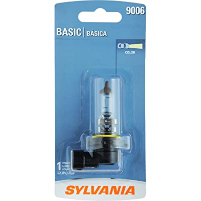 SYLVANIA - 9006 Basic - Halogen Bulb for Headlight, Fog, and Daytime Running Lights (Contains 1 Bulb): Automotive
