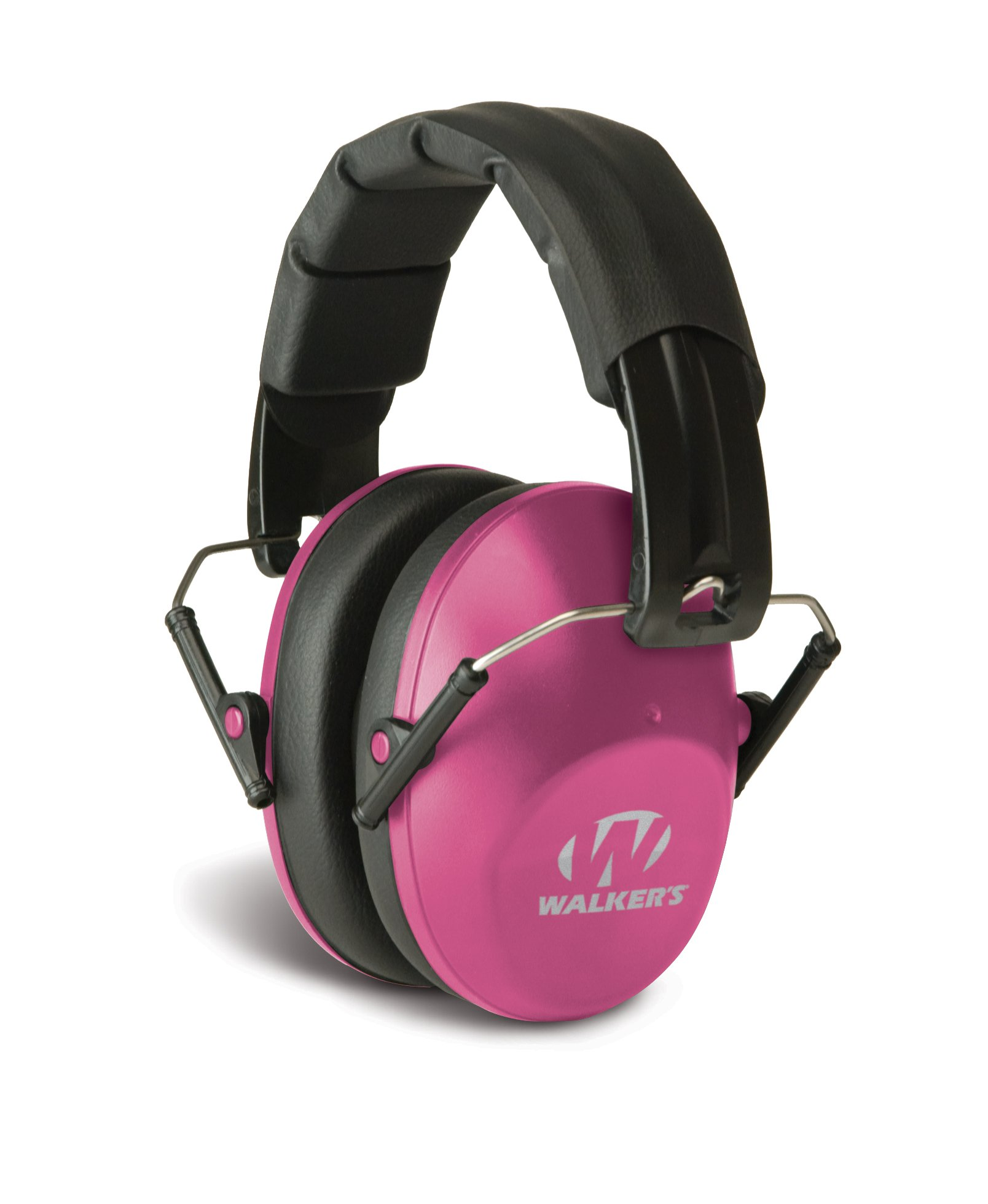 Walker's Low Profile Folding Muff (Pink) by Walker's Game Ear