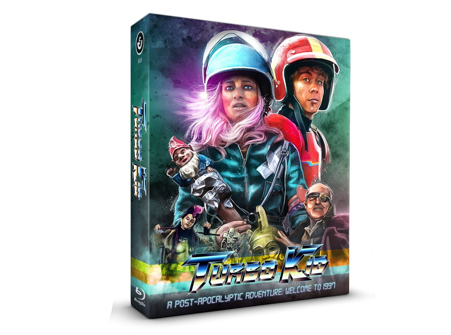 Turbo Kid Full Slip Limited Edition Blu-ray E2 Alemania: Amazon.es: Munro Chambers, Laurence Leboeuf, Michael Ironside, Francois Simard, Anouk Whissell, ...