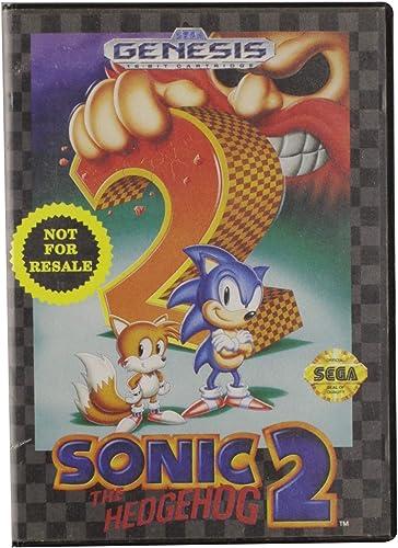 Sonic Hedgehog 2 Sega Genesis Computer And Video Games Amazon Ca