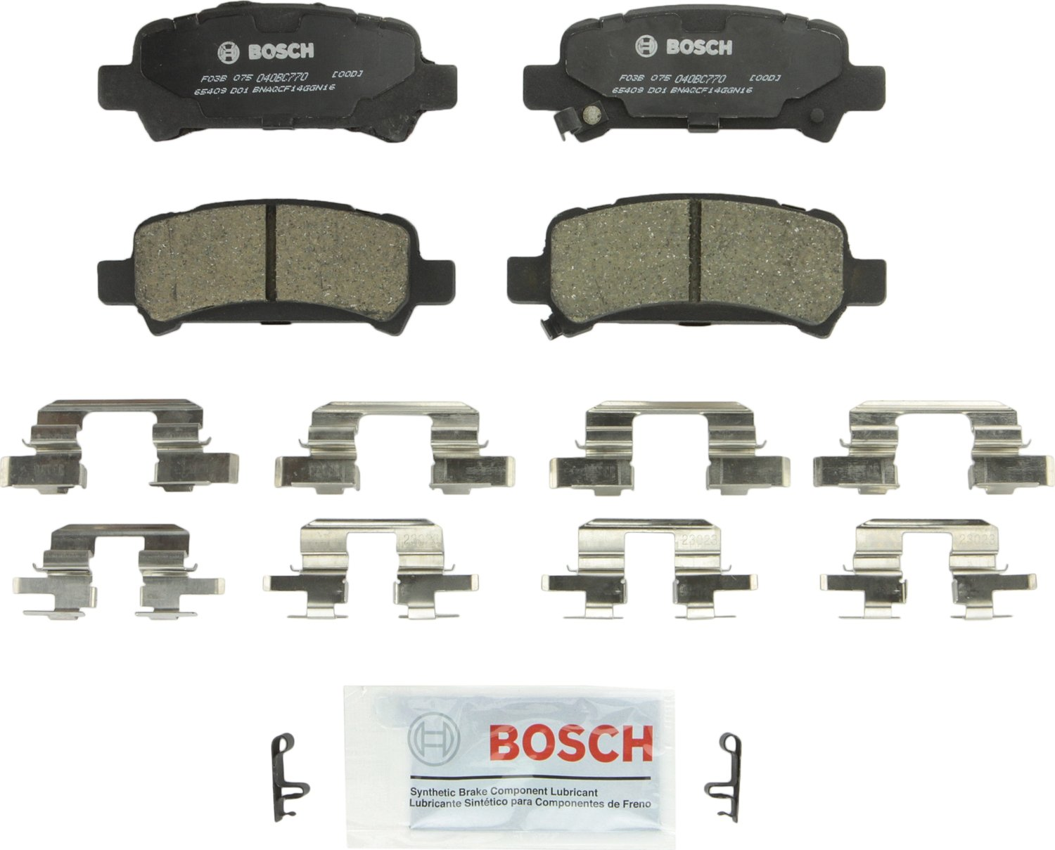 Bosch BC770 QuietCast Brake Pad Set