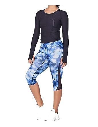 Lululemon Yoga Train Times Crop Pant Mini Blush Blossom ...