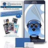 iTALKonline Samsung Galaxy A3 (2016) SM-A310F Clear Transparent LCD Screen Protector Guard with MicroFibre Cleaning Cloth and Application Card