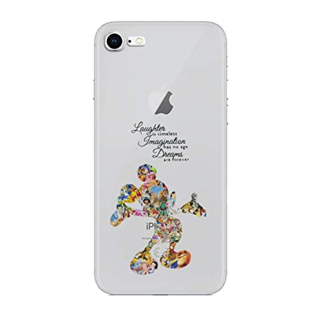 coque transparente iphone 8 disney