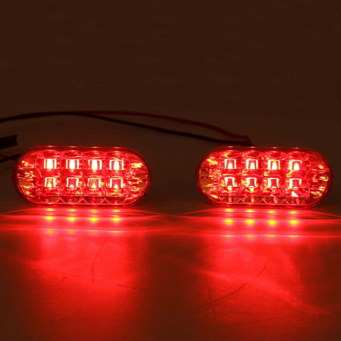 2 pcs lateral indicador Marcador repetidor luces con lente transparente y amarillo luz para VW Golf Jetta MK4 GTI B5 Passat: Amazon.es: Coche y moto