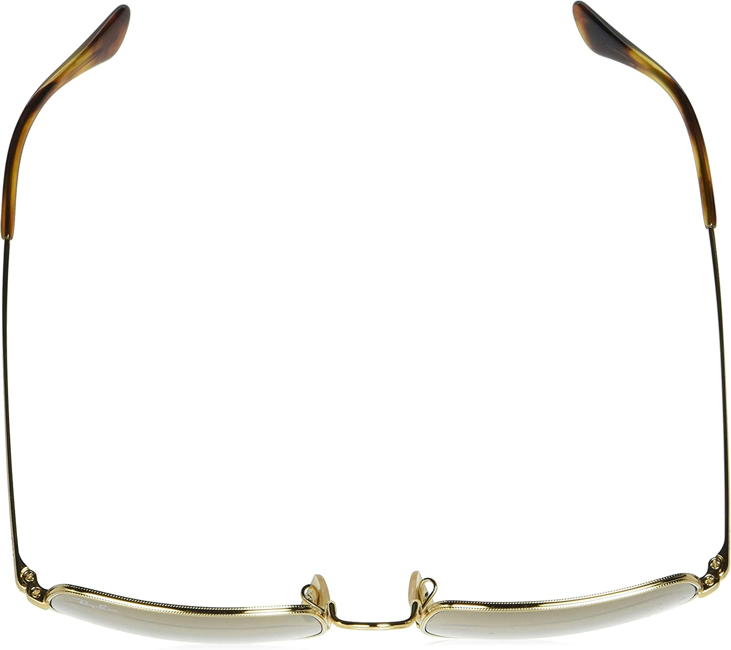 Ray-Ban Rectangle Lunettes de Repos Mixte Gold