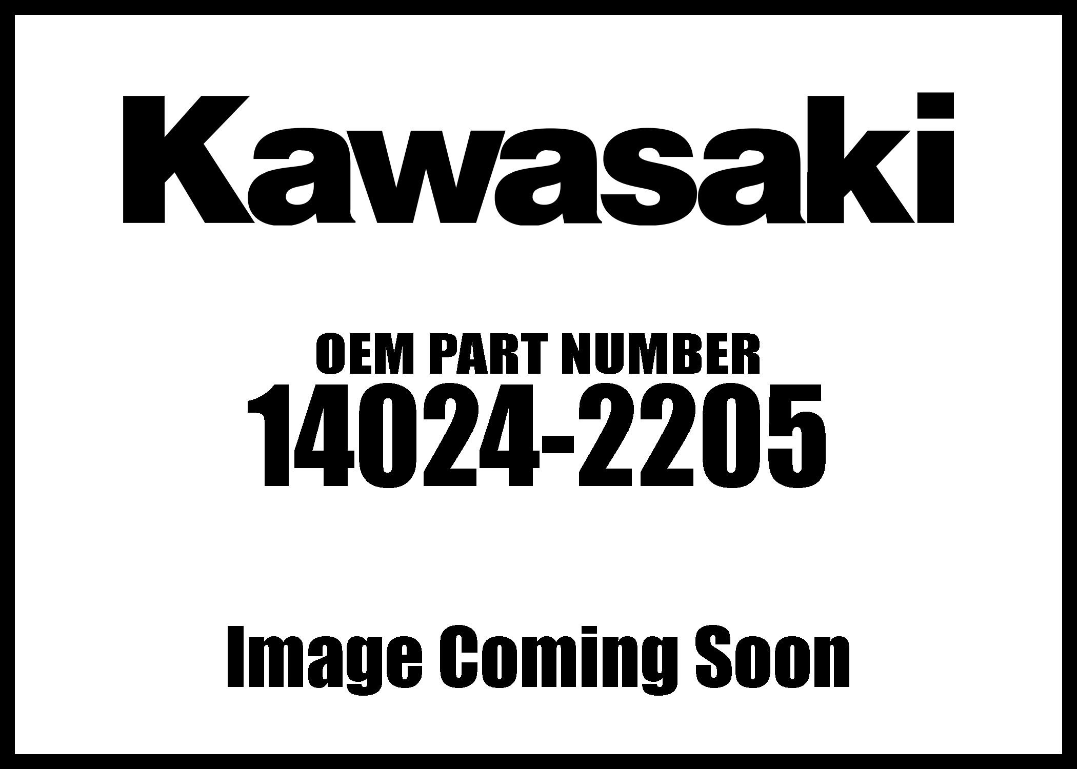 Kawasaki 14024-2205 Cover Genuine Original Equipment Manufacturer (OEM) Part