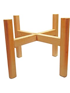 Amazon.com: Wood Plant Stand , Bamboo: Garden & Outdoor