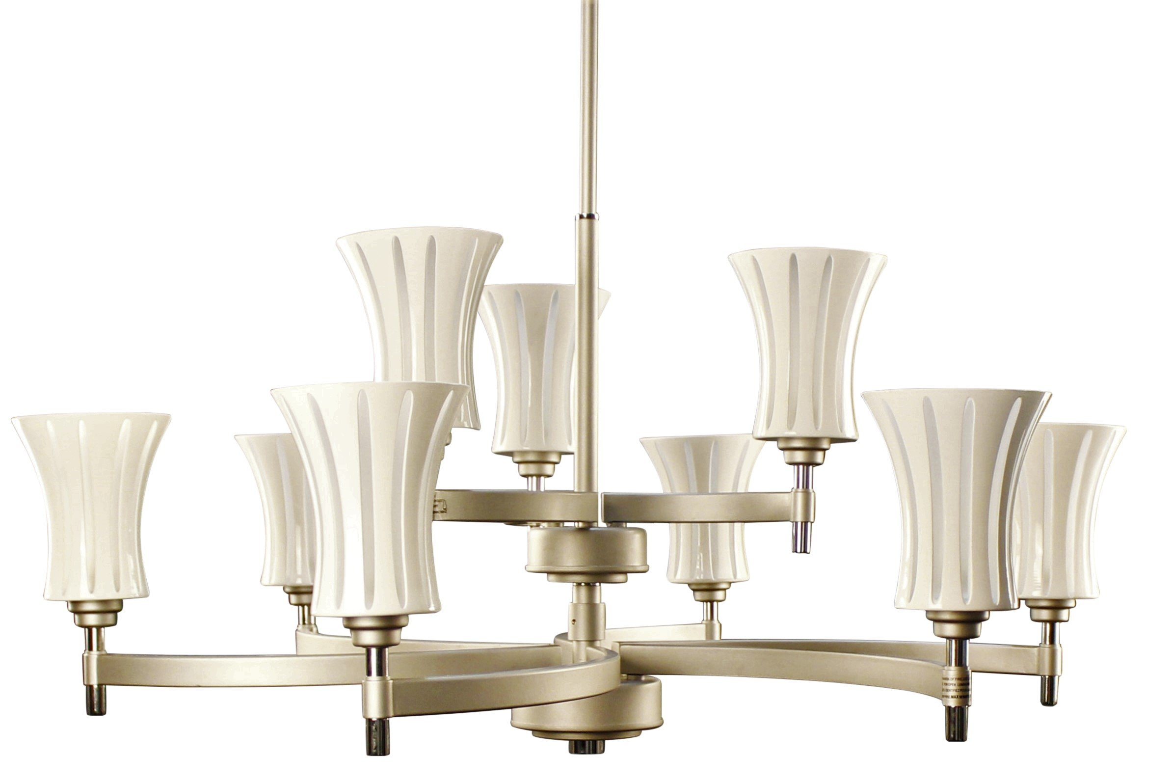 Ulextra Traditional and Modern Chandelier Pendant Lighting for Dining Room / Living Room / Hallway / Kitchen / Study - (8 styles available) (ALUMINUM - 194)