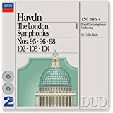 Haydn - Les symphonies londoniennes, vol. 1 : Symphonies n° 95, 96, 98, 102, 103 et 104 (Coffret 2 CD)