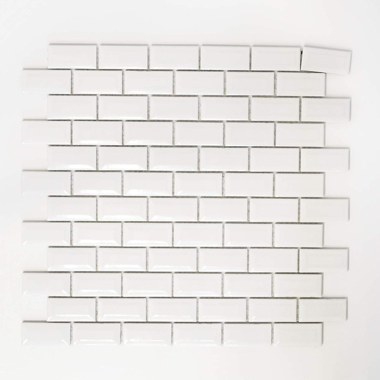 mosaico azulejos Espejo para baldosas mosaico bañ o o cocina Saló n cerá mica pared cocina bañ o inodoro brillo 5 mm # 361 123mosaikfliesen