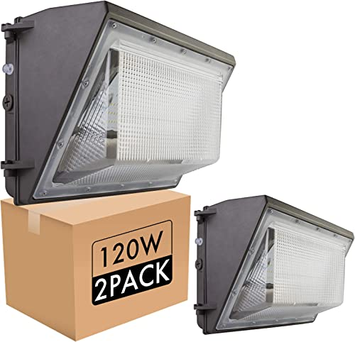 bulbeats 120W LED Wall Pack Lights 12000Lm 5000K Daylight LED Wall Pack