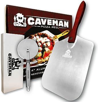 Amazon.com: Caveman Products - Pizza de metal de aluminio ...
